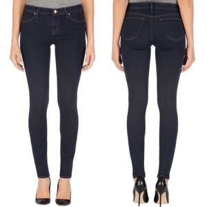 J Brand Super Skinny Ankle Jeans